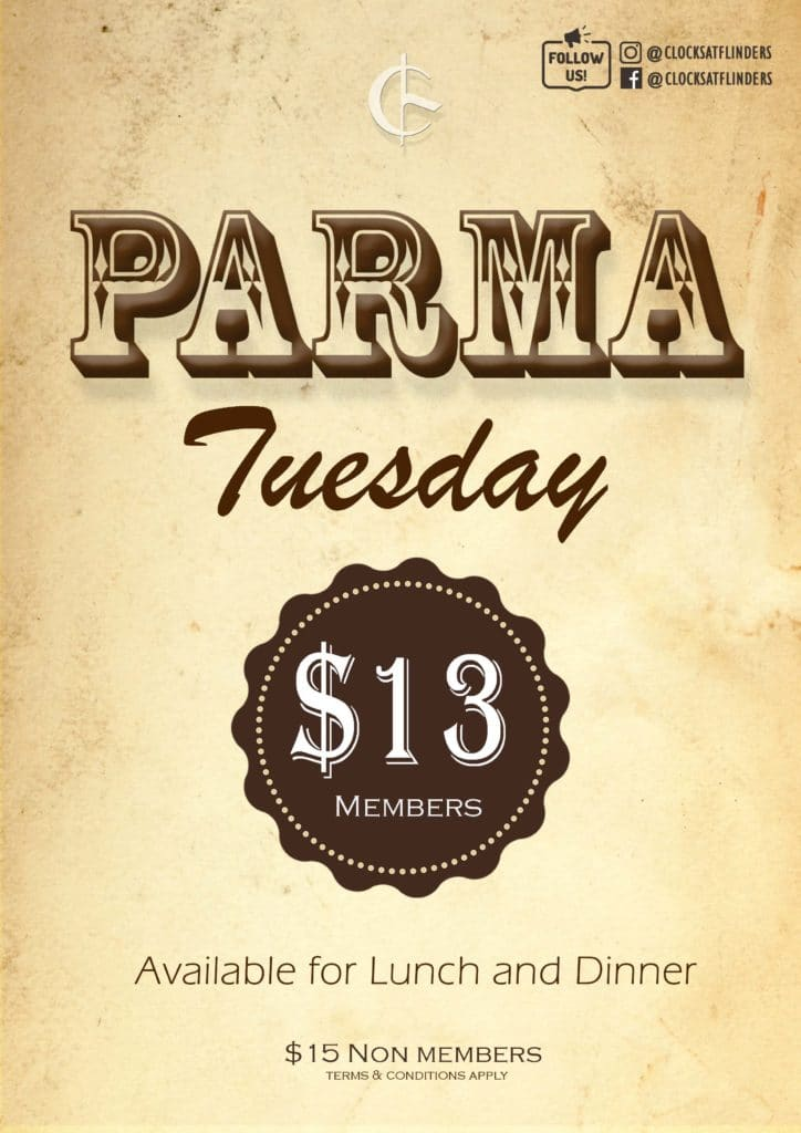 POSTER - PARMA TUESDAY